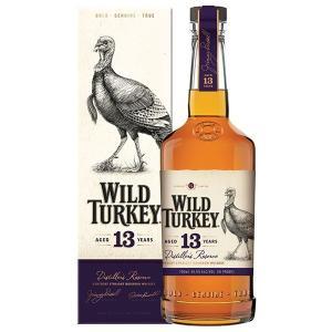 ワイルド ターキー 13年 ディスティラーズ リザーブ 700ml 45.5% 正規品・箱付き(ウイスキー・バーボン)|paz-work