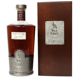 【終売品】ワイルド ターキー 17年 750ml 50.5% 正規品・木箱付(ウイスキー・バーボン)|paz-work