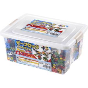 ピーブロック「コンテナセット2500」知育玩具 教材 組み立て 創造力  2500ピース 10色 多種 共同遊び|pblock