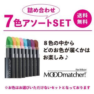 ムードマッチャー 6色アソートセット|pbt