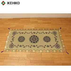 イケヒコ・コーポレーション 純国産 袋織 い草御前(仏前)ござ 『ガンジー』 約88×180cm 3109299 pc-akindo