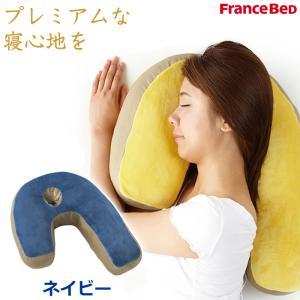 ■「スリープバンテージ」は、主な寝姿勢が横向き寝のかた向けに開発した枕です。■J字型のユニークなフォ...