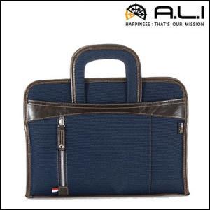 A.L.I アジア・ラゲージ バック ビジネスカジュアル CORDURA コーデュラシリーズ AG-1514-NV ネイビー|pc-akindo