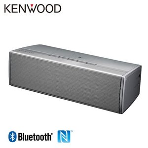ケンウッド ワイヤレススピーカー Bluetooth NFC搭載 AS-BT77-S シルバー