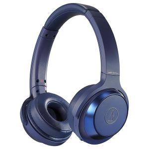 オーディオテクニカ ワイヤレスヘッドホン ATH-WS330BT-BL ブルー|PCあきんど