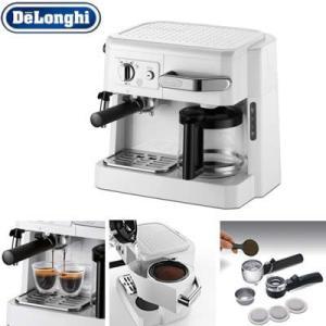 デロンギ コンビ コーヒーメーカー BCO410J-W ホワ...
