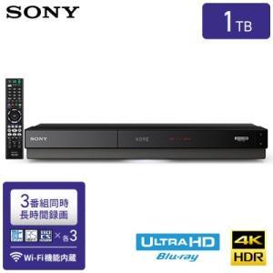 【即納】ソニー ブルーレイディスクレコーダー 1TB HDD内蔵 Ultra HDブルーレイ再生対応 3番組同時録画 BDZ-FT1000|pc-akindo