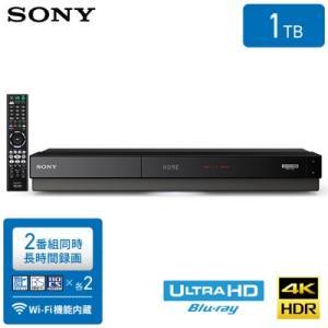 ソニー ブルーレイディスクレコーダー 1TB HDD内蔵 Ultra HDブルーレイ再生対応 2番組同時録画 BDZ-FW1000|pc-akindo