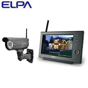 エルパ ELPA ワイヤレスカメラモニターセット 朝日電器 CMS-7110