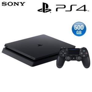 【新品】ソニー プレステ4 本体 500GB プレイステーション4 ジェット・ブラック CUH-2100AB01 PS4|pc-akindo