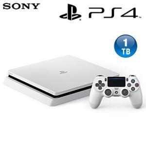 【新品】ソニー プレステ4 本体 1TB プレイステーション4 グレイシャー・ホワイト CUH-2100BB02 PS4|pc-akindo
