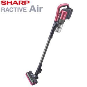 シャープ 掃除機 コードレススティッククリーナー ラクティブ エア EC-AR2S-P ピンク系 R...