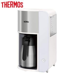 サーモス 真空断熱ポット コーヒーメーカー 1L ECK-1000-WH ホワイト THERMOS