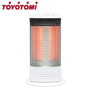 トヨトミ 電気ストーブ 赤外線ヒーター EH-Q100I-W ホワイト|PCあきんど