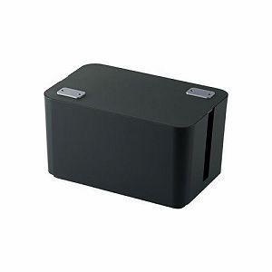 エレコム ケーブルボックス(4個口) EKC-BOX002BK ELECOM