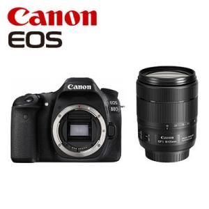 CANON デジタル一眼レフ EOS 80D EF-S 18-135 IS USM レンズキット E...