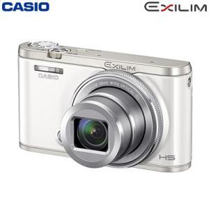 カシオ デジタルカメラ EXILIM ハイスピード 超広角モデル デジカメ コンデジ EX-ZR4000WE ホワイト