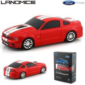 LANDMICE フォード ムスタング 無線マウス 2.4G FD-MUSGT-RE レッド|pc-akindo