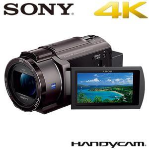 ソニー デジタル4Kビデオカメラレコーダー ハンディカム FDR-AX45-TI ブロンズブラウン
