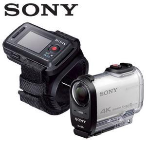 並品 SONY デジタル4Kビデオカメラレコーダー アクションカムリモコンキット FDR-X1000VR Wの商品画像