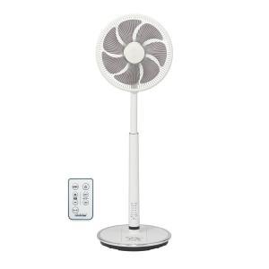 トヨトミ DCハイポジション扇風機 FS-D30LHR-W ホワイト PCあきんど