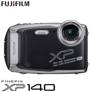 富士フイルム タフネスカメラ FinePix XP140 防水 耐衝撃 防塵 耐寒 4K動画 デジタ...