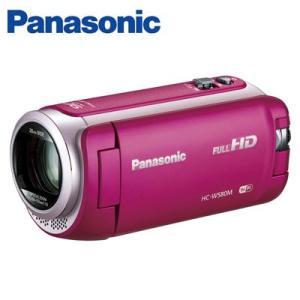 パナソニック デジタルビデオカメラ 32GB フルハイビジョン ワイプ撮り HC-W580M-P ピンク