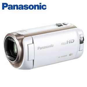パナソニック デジタルビデオカメラ 32GB フルハイビジョン ワイプ撮り HC-W580M-W ホワイト