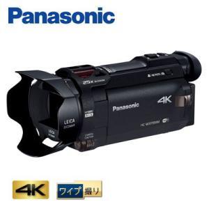 パナソニック デジタルビデオカメラ 64GB 4K ワイプ撮...