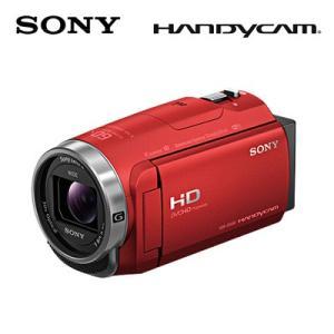 SONY デジタルHDビデオカメラレコーダー ハンディカム 64GB HDR-CX680-R レッド