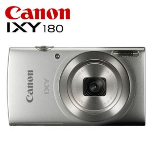 CANON コンパクトデジタルカメラ IXY 180 IXY180-SL シルバー