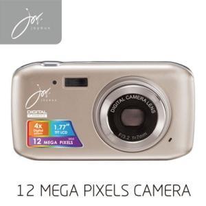 デジタルカメラ 12 MEGA PIXELS ゴールド JOY50SG ジョワイユ