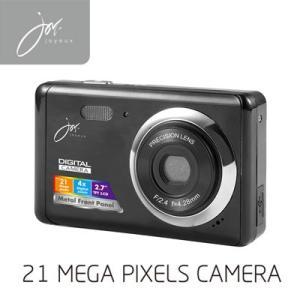 デジタルカメラ 21 MEGA PIXELS ブラック JOY80BK ジョワイユ