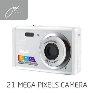 デジタルカメラ 21 MEGA PIXELS ホワイト JOY80WH ジョワイユ