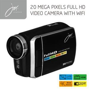 FULLHDビデオカメラ with Wi-Fi ブラック JOY8251BK ジョワイユ