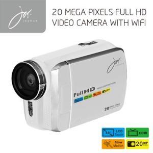 FULLHDビデオカメラ with Wi-Fi ホワイト JOY8251WH ジョワイユ