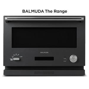 バルミューダ オーブンレンジ BALMUDA The Range K04A-BK ブラック 18L ...