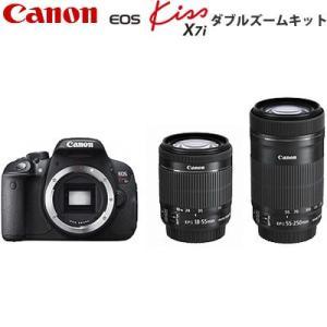 キヤノン デジタル一眼レフカメラ EOS Kiss X7i ダブルズームキット KISSX7I-WKIT