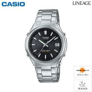 カシオ 腕時計 LINEAGE メンズ 電波ソーラー 5気圧防水 LIW-120DEJ-1AJF 2015年7月発売モデル|PCあきんど