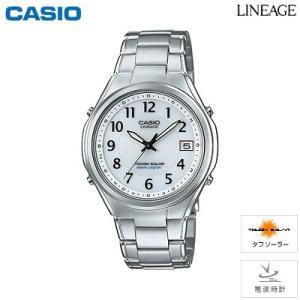 カシオ 腕時計 LINEAGE メンズ 電波ソーラー 5気圧防水 LIW-120DEJ-7A2JF 2015年7月発売モデル|PCあきんど