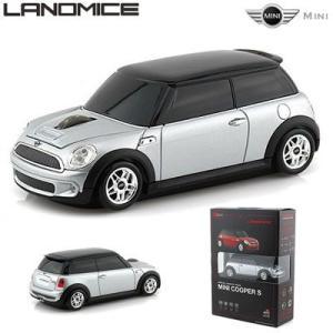 LANDMICE ミニ クーパー 無線マウス 2.4G MINI-COPS-SL シルバー|pc-akindo
