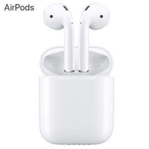 【即納】Apple アップル AirPods ワイヤレス イヤホン ヘッドフォン Bluetooth MMEF2J/A MMEF2JA