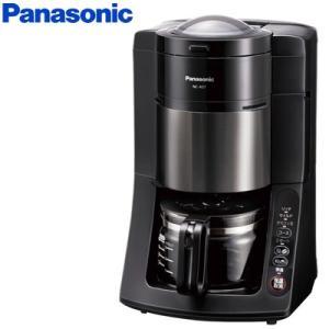 パナソニック 沸騰浄水コーヒーメーカー NC-A57-K ブラック 5カップ 670ml