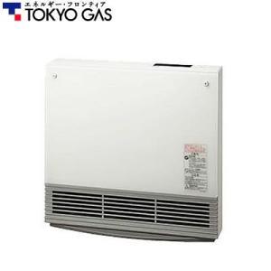 東京ガス 35号 ガラスパネルファンヒーター NR-C235GFH-WH ホワイト