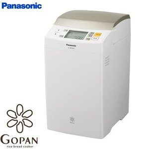 パナソニック GOPAN ライスブレッドクッカー 1斤タイプ SD-RBM1001-W ホワイト pc-akindo