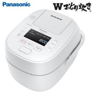 パナソニック 5.5合炊き 可変圧力IHジャー炊飯器 Wおどり炊き SR-MPW100-W ホワイト PCあきんど