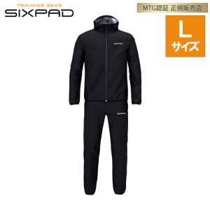 正規品 MTG シックスパッド サウナスーツ Lサイズ SIXPAD Sauna Suit SS-AW00C|PCあきんど