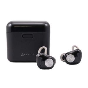 AVIOT 完全ワイヤレスイヤホン TE-D01d-BK ブラック