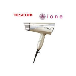 テスコム マイナスイオンヘアードライヤー ione TID451-N ゴールド