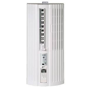 トヨトミ 4.5〜7畳 冷房専用 窓用エアコン ウインドエアコン TIW-A180L-W ホワイト PCあきんど
